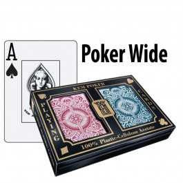 Kem Playing Cards Arrow Poker Wide Jumbo Red/Blue