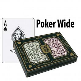 Kem Playing Cards Jacquard Poker Wide Regular