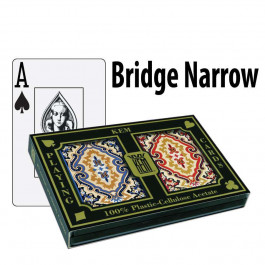 Kem Playing Cards Paisley Bridge Jumbo