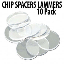Acrylic Chip Spacers Pack of 10 pcs