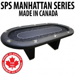 Poker Table SPS Manhattan Full Rail canada
