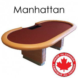 Custom Built Poker Table : Manhattan Table