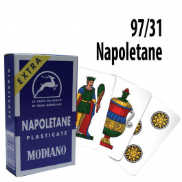 Italian Regional Playing Cards : Modiano Napoletane 97/31