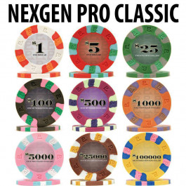 Nexgen Pro Classic 9G Chips : Sold by the roll
