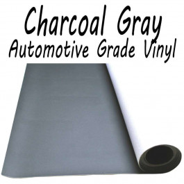 Stretchable Poker Table Vinyl Charcoal : 9 feet (3 yards)