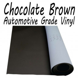 Stretchable Poker Table Vinyl Chocolate Brown : 9 feet (3 yards)