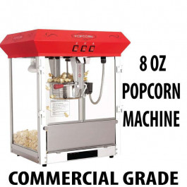 8oz Popcorn machine Table Top Unit RED 2017 Model