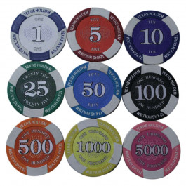 Prestige Poker Chips : 12g Chips : Sold by the roll