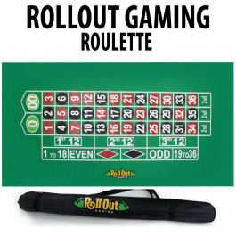 Roll Out Rubber Foam Table Top - Roulette