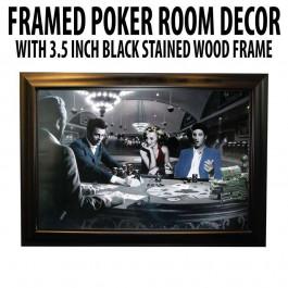 Poker Room art decor Framed Art  : Four of a Kind