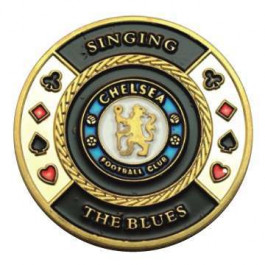 Poker Protector Card Guard Cover in Capsule :  Singing The Blues Chelsea