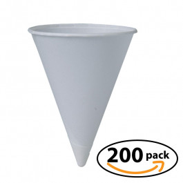 Snow Cone Cups - Pack of 200  6oz cups