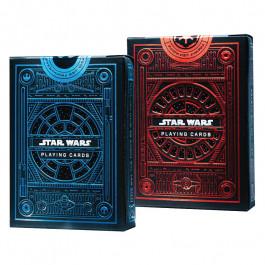 Star Wars Playing Cards 2 Pack Decks   Light Side Blue Deck   Dark Side Red Deck