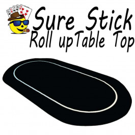 Sure Stick Rubber Foam Table Top - Black