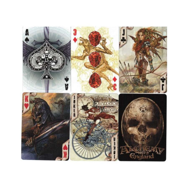 Bicycle Alchemy England Bicycle Playing Cards