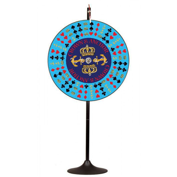Crown And Anchor Prize Wheel
