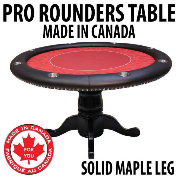 Custom poker tables canada