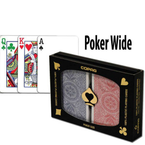Copag Playing Cards 4 Colour Poker Size Regular Index