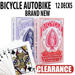Bicycle Autobike No 1 Playing Cards Brand New Sealed Decks 12