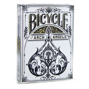 Bicycle Playing Cards ARCHANGELS Plastic Coated Cards by Theory11 Design