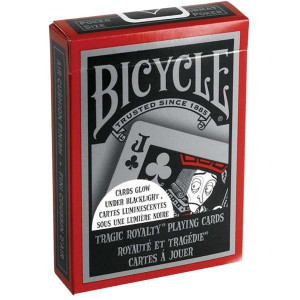 Bicycle® Tragic Royalty Playing Cards