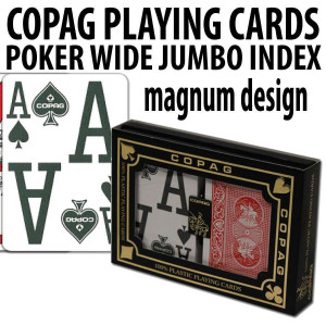 Copag Playing Cards RB Poker Size Magnum Index Double Deck