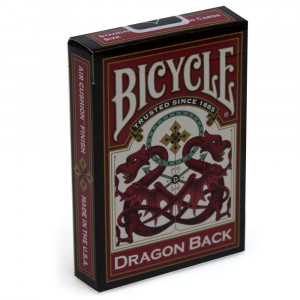 Bicycle Playing Cards DRAGON BACK Plastic Coated Cards