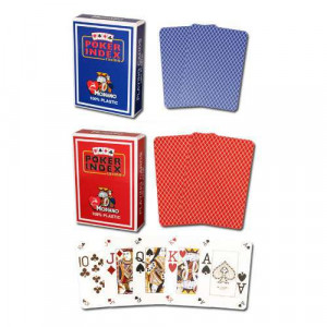Modiano Dual Index Poker Peek Poker Wide 2 - Decks