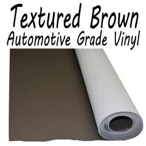 Stretchable Poker Table Vinyl Textured Brown : 9 feet (3 yards)