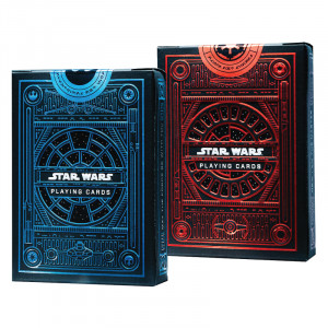 Star Wars Playing Cards 2 Pack Decks | Light Side Blue Deck | Dark Side Red Deck