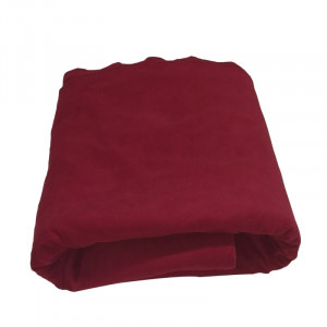 Supreme Casino Poker Table Cloth - Burgundy Felt