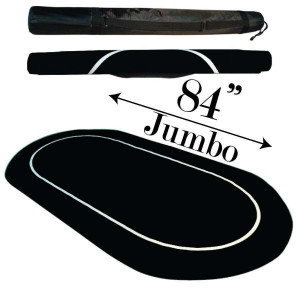 Sure Stick Rubber Foam Table Top - Black Jumbo