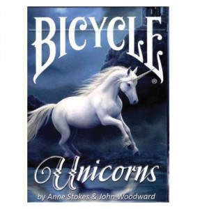 Bicycle Playing Cards ANNE STOKES Unicorn