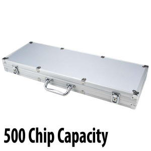 500 capacity : Aluminum Poker Casino Chip Case