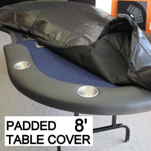 Poker Table Cover  Professional Heavy Duty Padded  Size 8 Feet