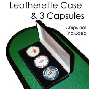 Leatherette Case W/ 3 Air Tite Capsule 39 mm