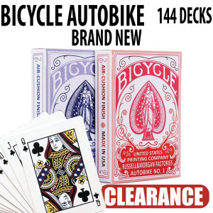 Bicycle Autobike No 1 Playing Cards Brand New Sealed Decks 144