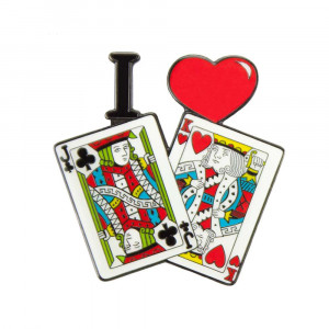 Poker Protector Card Guard Cover : I Love Jack King Off Suit