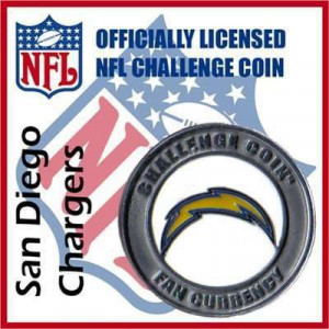 Poker Protector Card Guard Cover : NFL San Diego Chargers