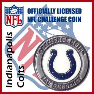 Poker Protector Card Guard Cover : NFL Indianapolis Colts