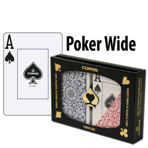 Copag Playing Cards Elite Poker Red/Blue Jumbo Index