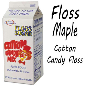 Cotton Candy Floss - Maple 3.25 Lbs carton