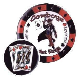 Poker Protector Card Guard Cover : K-K Cowboys