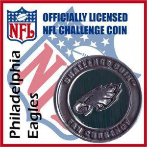Poker Protector Card Guard Cover : NFL Philadelphia Eagles