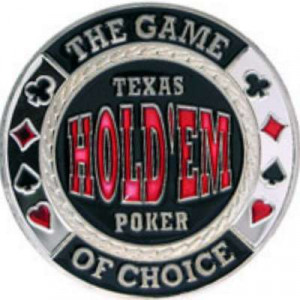 Poker Protector Card Guard Cover in Capsule :  Texas Holdem : Game of Choice