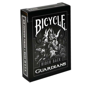 Bicycle Playing Cards GUARDIANS Plastic Coated Cards by Theory11 Design