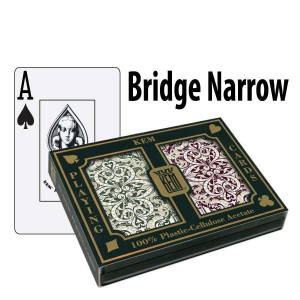 Kem Playing Cards Jacquard Bridge Narrow Jumbo