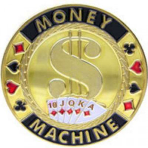 Poker Protector Card Guard Cover in Capsule :  Money Machine