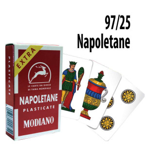 Italian Regional Playing Cards : Modiano Napoletane 97/25