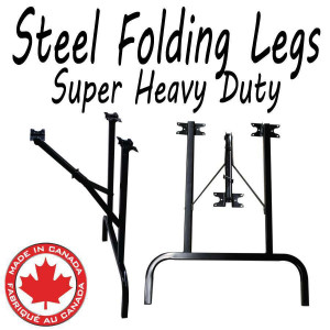 Steel Folding Heavy Duty table legs (2 Legs)